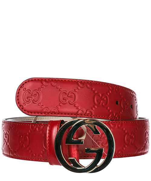 Belt Gucci 370543CWC1G6433 rosso