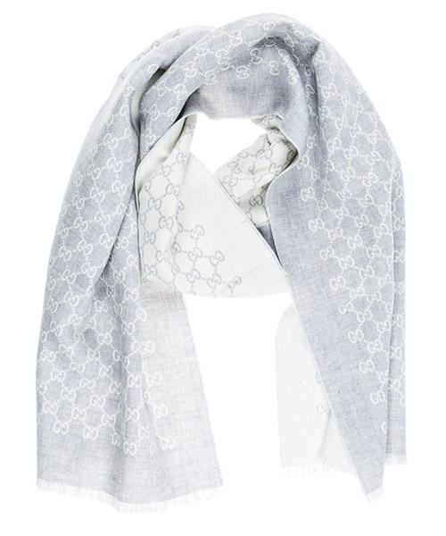 Wool scarf Gucci 3912464G2001477 grigio