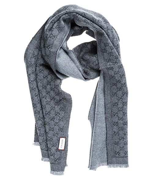 Men's wool scarf gg supreme secondary image