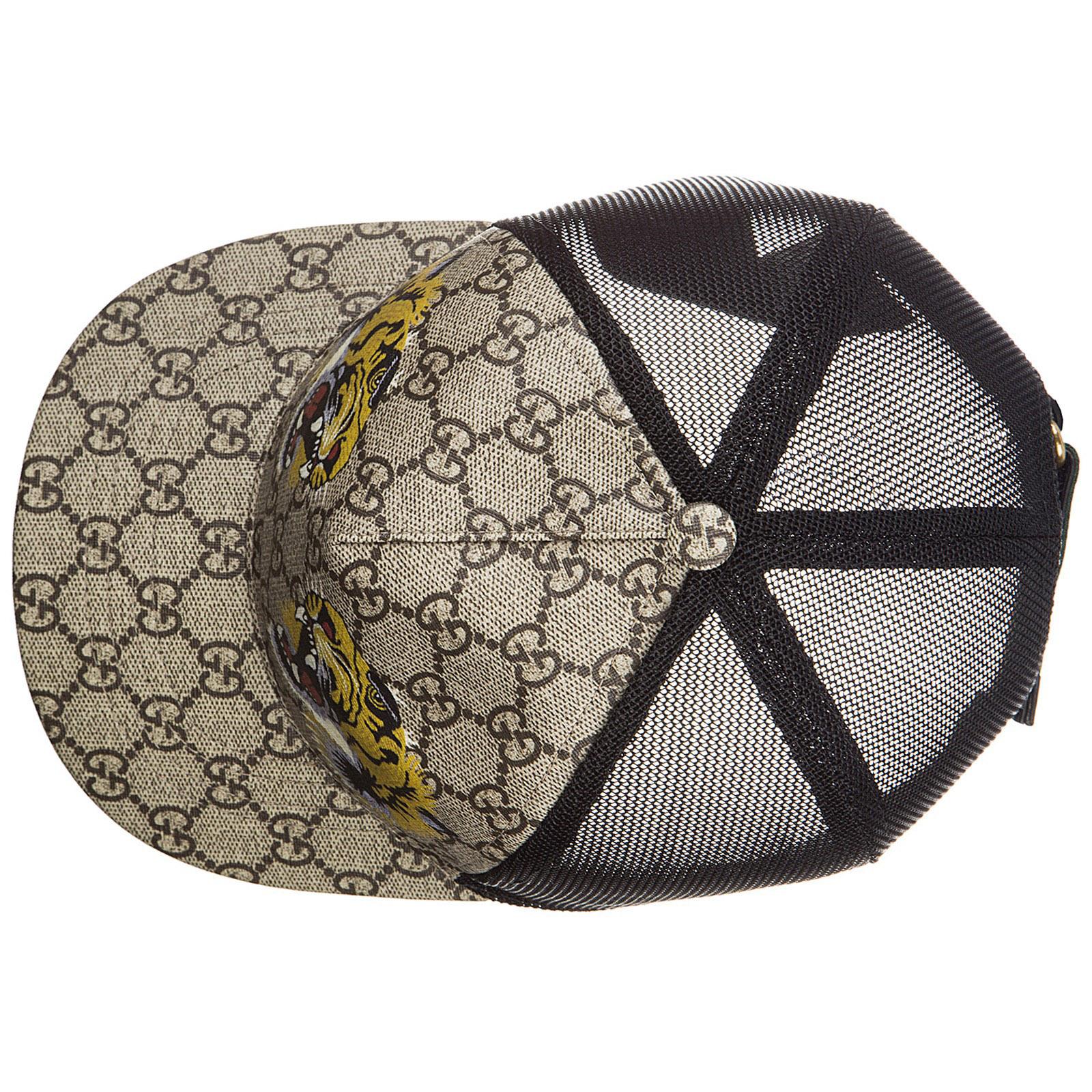 0a52ade4e2b Casquette baseball Gucci 426887 4HB13 2160 beige