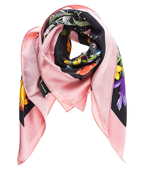 Foulard seta Gucci 452710 3G001 1072 rosa