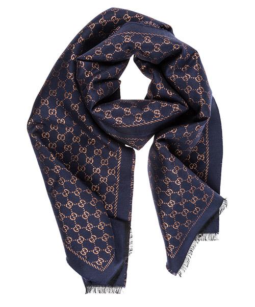 Wool scarf Gucci 4797633G1874175 blu