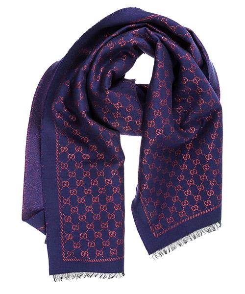 Wool scarf Gucci 4797633G1874374 blu
