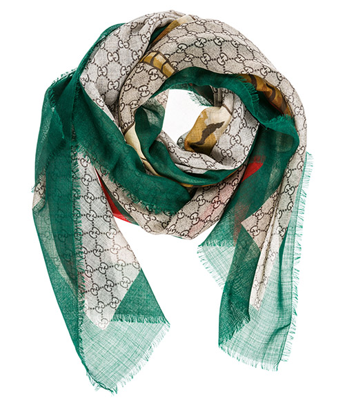 Étole Gucci 4955114G2003174 verde