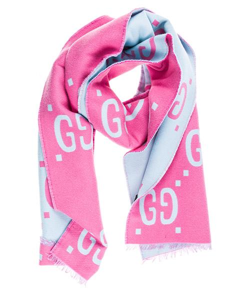 Wool scarf Gucci 5053953G0205869 rosa