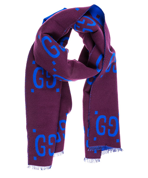 Sciarpa lana Gucci 5053953G0206268 viola