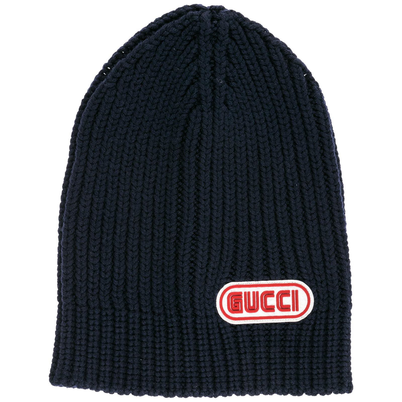 Berretto Gucci 519750 4G206 4100 blu  0ef6e068adad