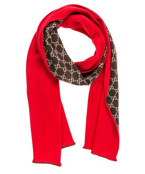 Sciarpa lana Gucci 5289463G7446500 rosso