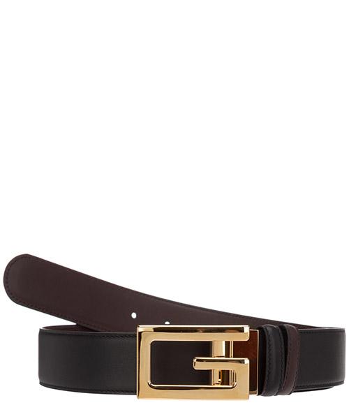 Belt Gucci square g 573156 AP0BG 1062 nero