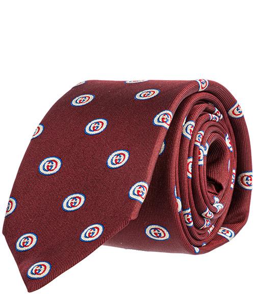 Tie Gucci 573470 4E002 6200 rosso