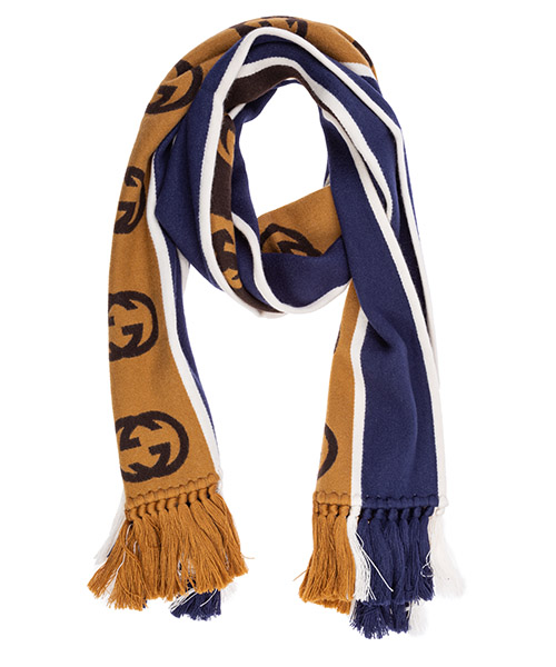 Men's wool scarf secondary image