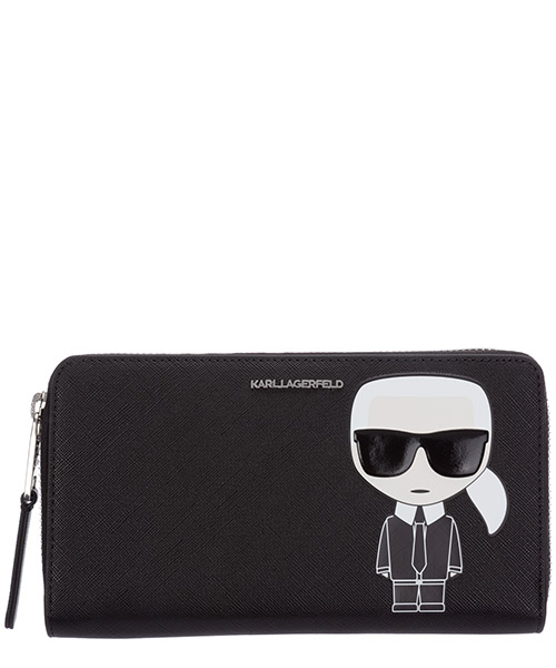 Wallet Karl Lagerfeld K/Ikonik 205W3213 nero