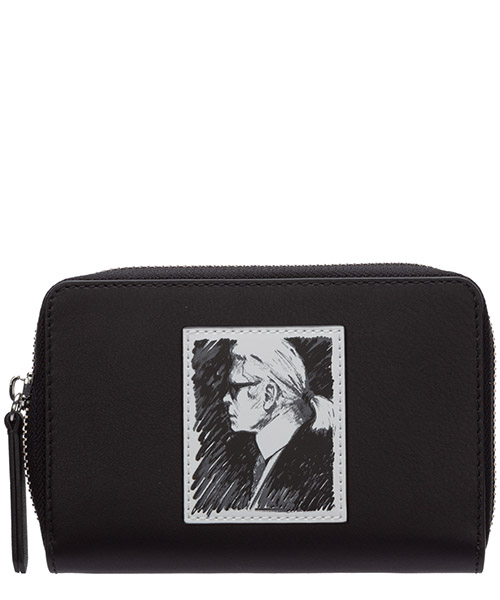 Monedero Karl Lagerfeld legend 20KW200W3207 nero