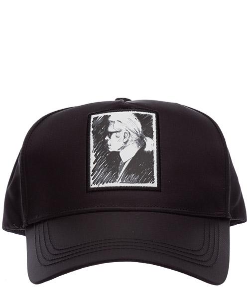 Kappe verstellbar damen baseball cap basecap hut capsule karl legend secondary image