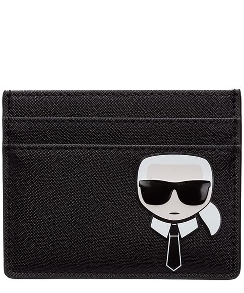 Kreditkartenetui Karl Lagerfeld k/ikonik 20kw201w3209 black