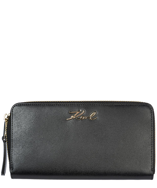 Wallet Karl Lagerfeld K/Signature 96KW3210 black/gold