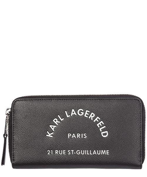 Geldbörse Karl Lagerfeld rue st guillaume 96kw3217 nero