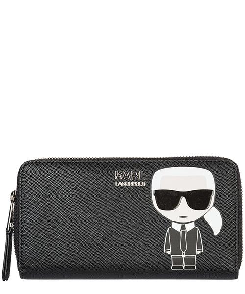 Portafoglio Karl Lagerfeld k/ikonik 96kw3232 black