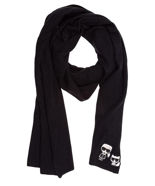Scarf Karl Lagerfeld k/ikonik 96kw3307 black