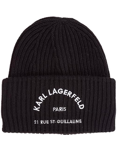 Beanie Karl Lagerfeld rue st guillaume 96kw3403 black