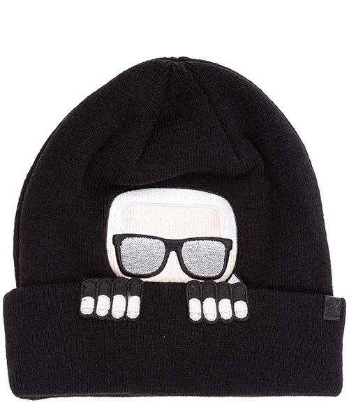 Beanie Karl Lagerfeld k/ikonik 96kw3404 black