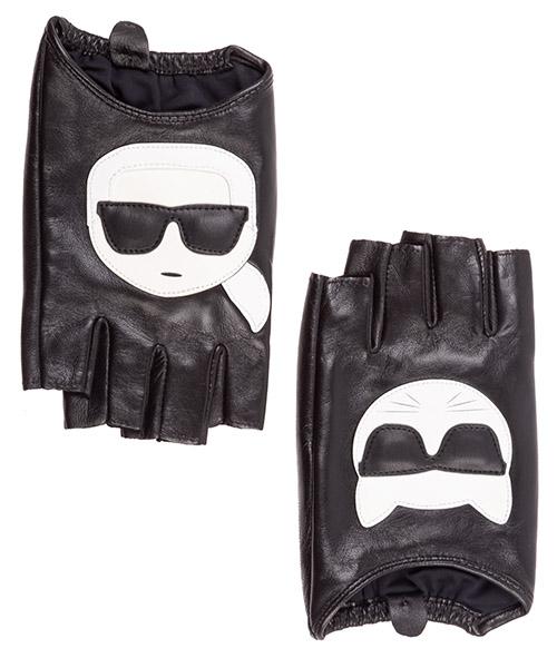 Gloves Karl Lagerfeld k/ikonik 96kw3602 nero