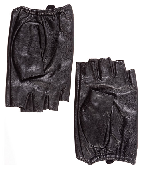Women's leather gloves k/ikonik secondary image