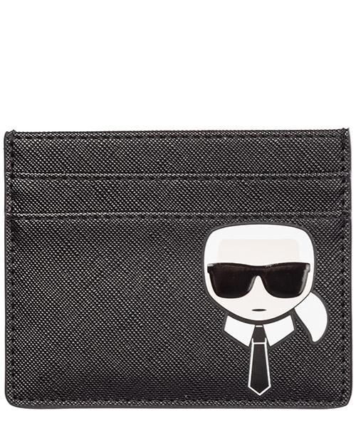 Kreditkartenetui Karl Lagerfeld k/ikonik 96kw3268 nero