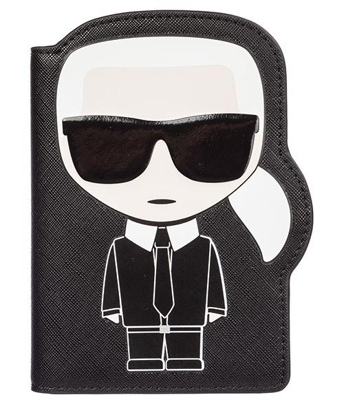 Document holder Karl Lagerfeld k/ikonik 96kw3269 nero