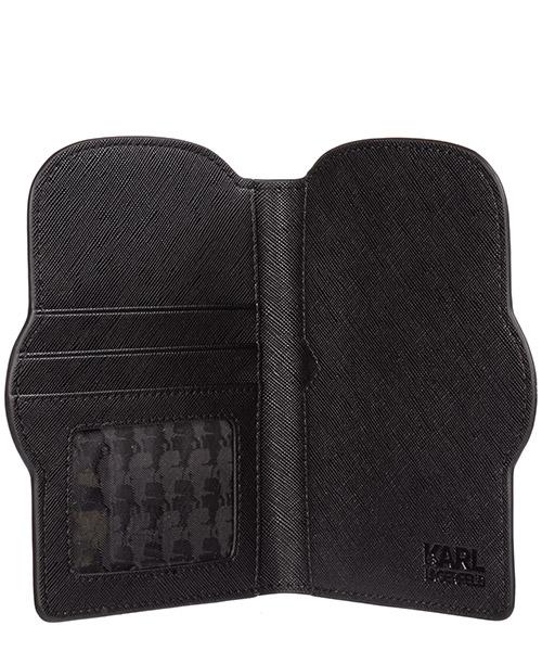 Men's travel document passport case holder k/ikonik secondary image