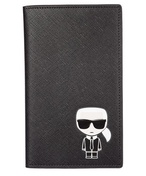 Document holder Karl Lagerfeld k/ikonik 96kw3270 nero
