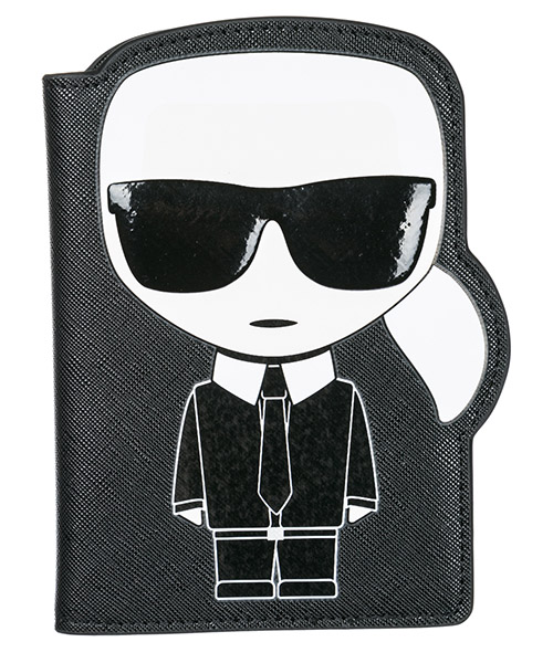 Document holder Karl Lagerfeld K/Ikonik 86KW3234 nero