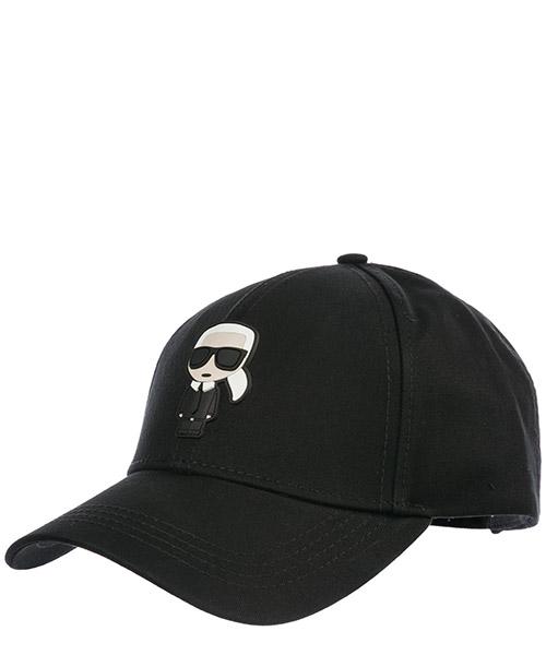 Gorra de beisbol Karl Lagerfeld K/Ikonik 86KW3408 nero