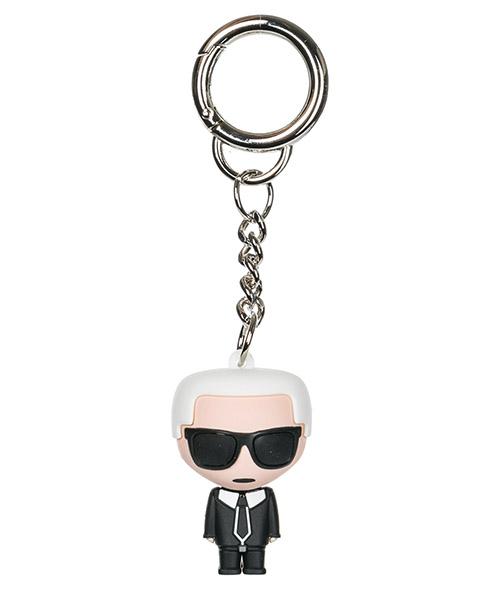 Portachiavi Karl Lagerfeld K/Ikonik 86KW3820 bianco