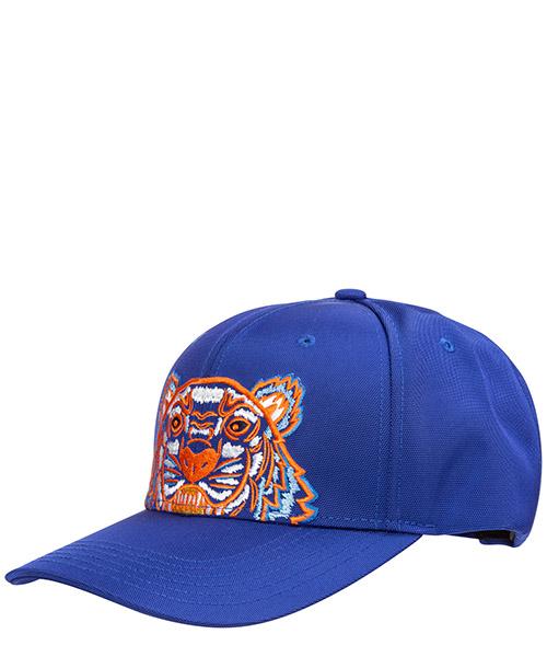 Baseball cap Kenzo tiger f855ac301f2074a blu