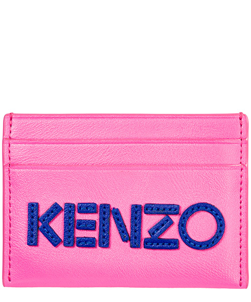 Kreditkartenetui Kenzo F955PM500L46.26 rosa
