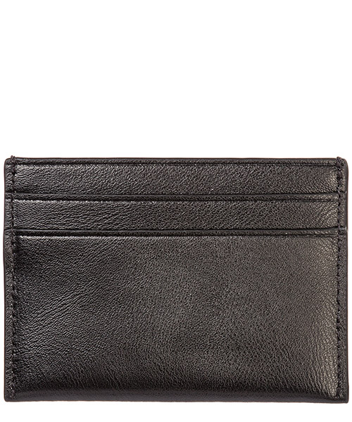 Women's genuine leather credit card case holder wallet secondary image