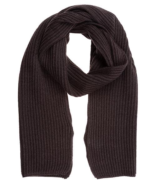 Bufandas de lana Lardini IMSCARF1_IM55310_450 marrone