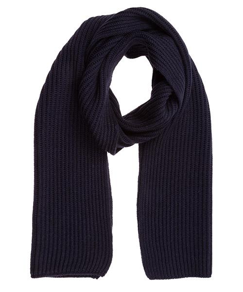 Bufandas de lana Lardini IMSCARF1_IM55310_850 blu