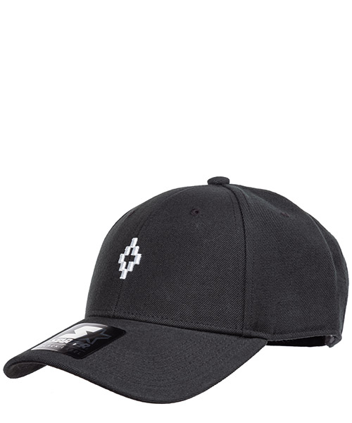 Cappello baseball Marcelo Burlon cross cmlb008f190170391001 nero
