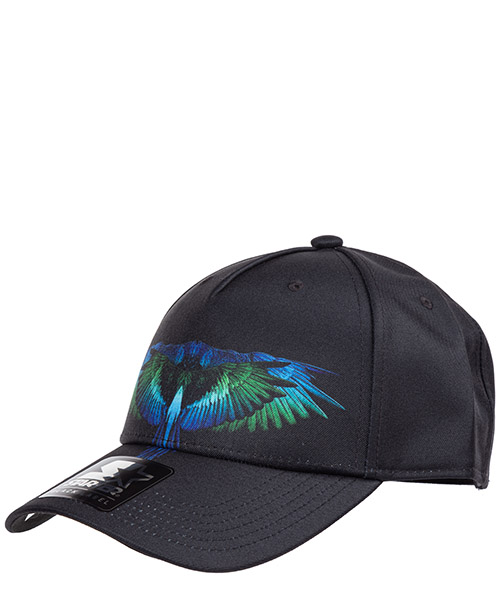 Cappello baseball Marcelo Burlon wings cmlb008f190170401088 nero