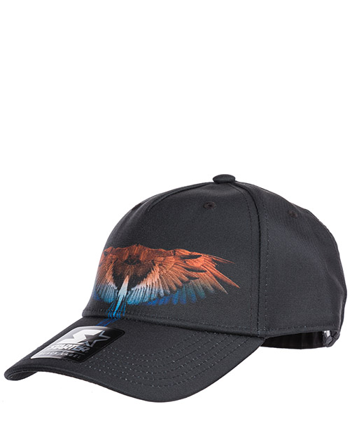 Hut Marcelo Burlon Starter wings CMLB008R190171251018 nero