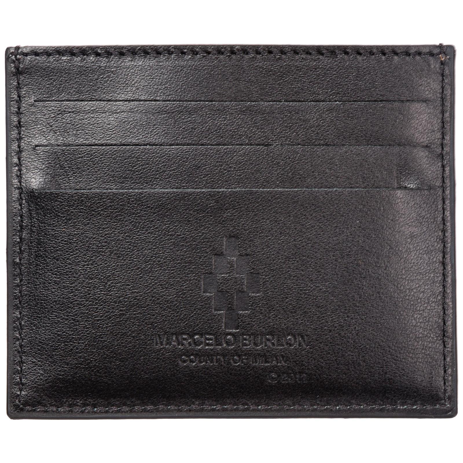 design senza tempo 9cf23 9a09f Porta carte di credito portafoglio uomo pelle wings