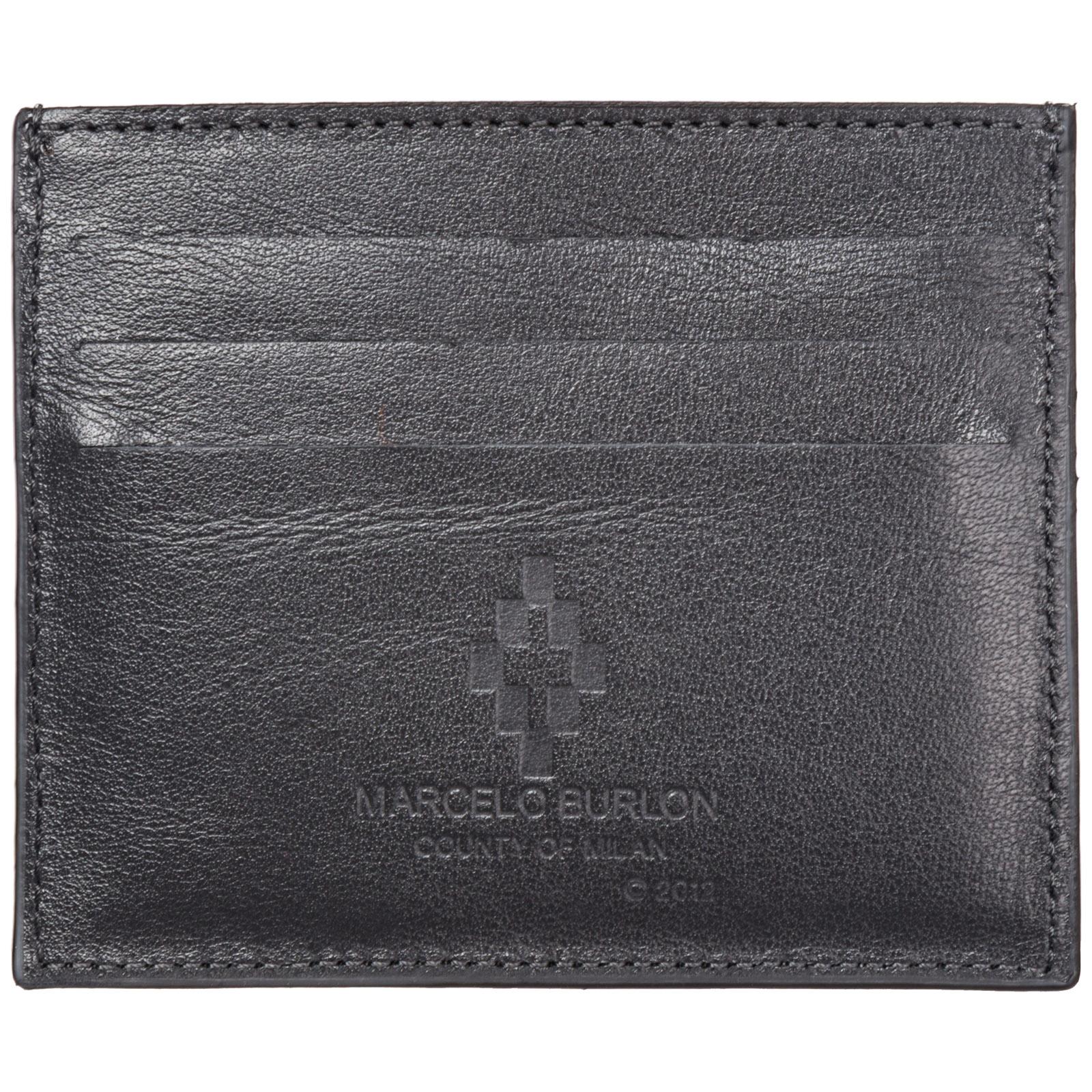 Porta carte di credito portafoglio uomo pelle