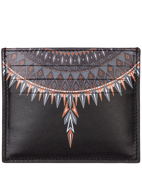 Credit card holder Marcelo Burlon norwegian wings cmnd003f198540701088 nero