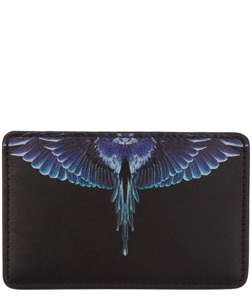 Credit card holder Marcelo Burlon wings CMND008E20LEA0011043 nero