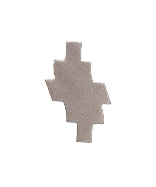 Ohrringe Marcelo Burlon distort cross cmod020f20met0017200 argento