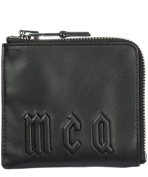 Men's wallet genuine leather coin case holder purse card zip around