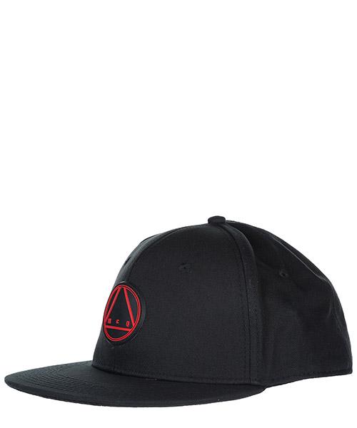 Baseball cap MCQ Alexander McQueen 415722 RGC17 1008 black - amp red
