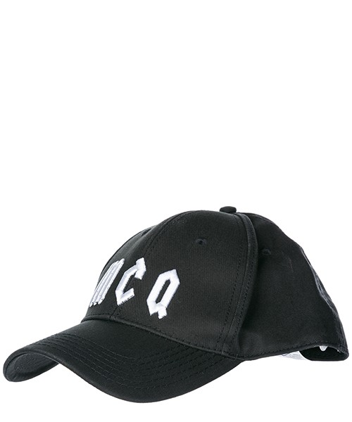 Baseball cap MCQ Alexander McQueen Gothic 501183RGC201006 nero